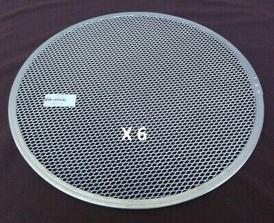 6 ea ~ Allied Metal Mesh Pizza Baking Screen - 16 Inches