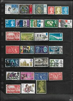 Great Britain Mixed Lot of  Stamps Used  Lot #40