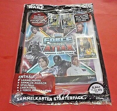 Topps Force Attax  Starterpack 2017 Star Wars