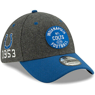 2019 Indianapolis Colts New Era 39THIRTY NFL Sideline Home On Field Cap Hat