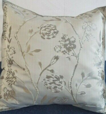 24 inch EXTRA LARGE GIANT CUSHION GREY AND BEIGE DESIGN