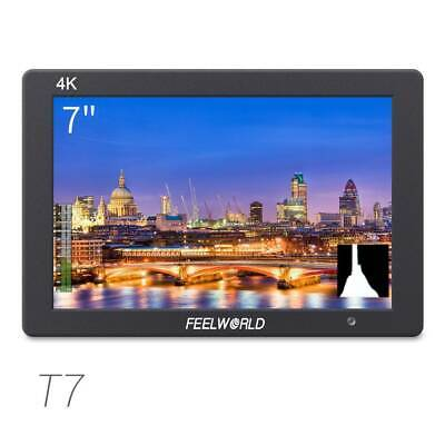 FEELWORLD T7 7 inch IPS 4K HDMI Camera Field Monitor with Video Assist
