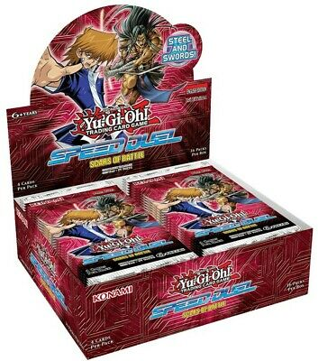 YuGiOh Speed Duel: Scars of Battle 1st Edition Booster Box SEALED!!