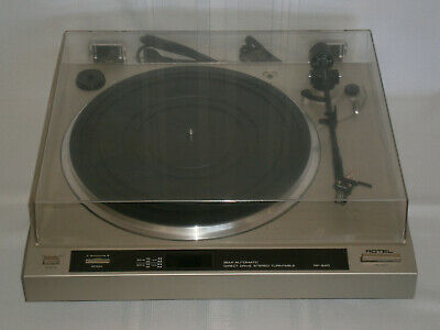 Retro Vintage Rotel Stereo Record Player Turntable Model RP-840 1970-80's Japan