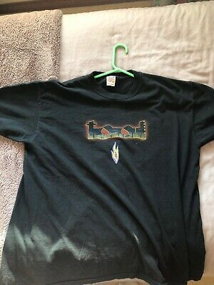 VINTAGE 2001 TOOL Lateralus CREW Staff Tour T-shirt Solid Black XL