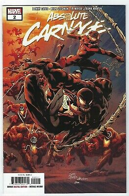 Absolute Carnage # 2 Cover A NM Marvel Pre Sale Ships Aug 28th