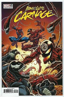 Absolute Carnage # 2 Lim Variant NM Marvel Pre Sale Ships Aug 28th