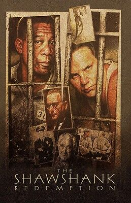 The Shawshank Redemption movie poster print  (C)  : 11 x 17 inches : Tim Robbins