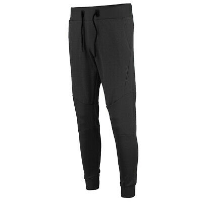 XS Sport Men's Solid Sport Jogger Pants w/ Rubber Side Zipper