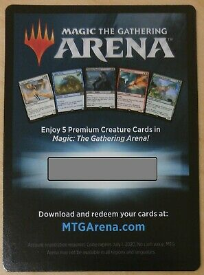 MTG ARENA SEALED Event Entry Prerelease Code Magic Guilds of Ravnica