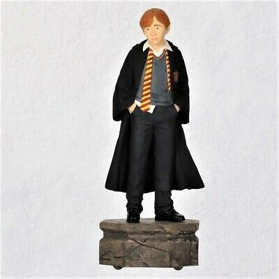 Hallmark 2019 Harry Potter Collection RON WEASLEY Ornament with Light & Sound