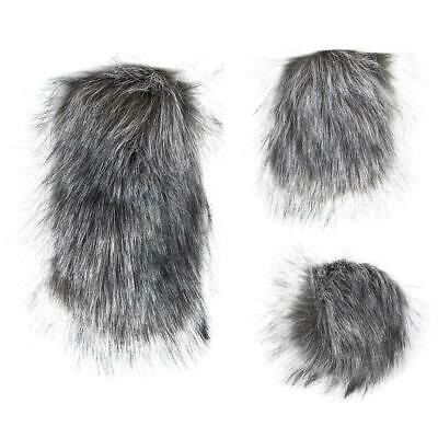 Microphone Windshield Windscreen Muff for Camera Recorder Fur Wind Shield S/M/L