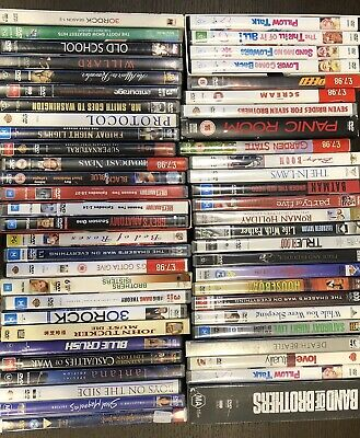 DVD BULK SELECTION - 54 Movies/TV Shows