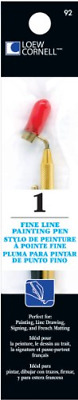 Loew-Cornell Fine Line Painting Pen, Other, Multicoloured, 3.01 x 5.93 x 22.06