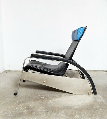 """Jean Prouvé Lounge Chair D80 """"Grand Repos"""" for Tecta"""