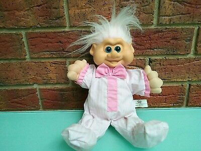 Vintage 1991 Bedtime Troll Doll Large Toy Figure I.T.B American Fun Toys