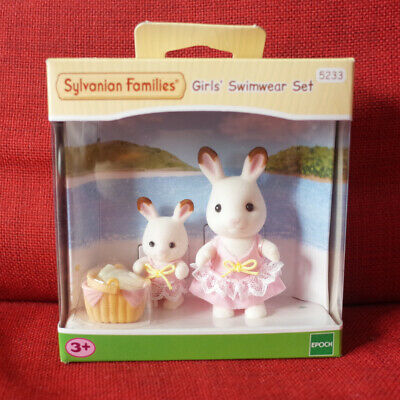 Sylvanian Families GIRLS' SWIMWARE SET Epoch 5233 Calico critters