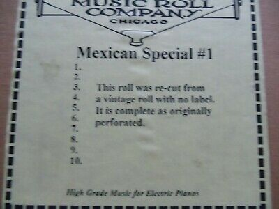 """Clark   Nickelodeon """"A""""  Roll (25)  Mexican special 1 see photo for details"""