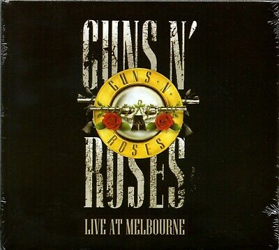 Guns N' Roses CD Live At Melbourne Brand New Sealed Digipak Guns N Roses
