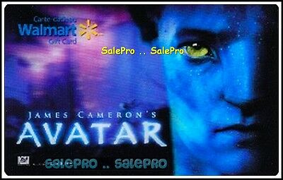 Walmart Hd Screen Animation Super Movie Avatar Lenticular Collectible Gift Card