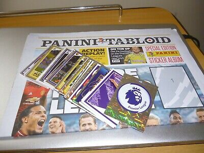 Panini Tabloid 2019 Premier League Sticker Collection.full Loose Set & Album