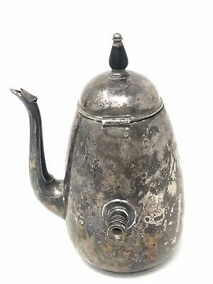 FB ROGERS SILVER Co 2357 Silver Plated Tea Pot Kettle Vintage 40 oz Distressed
