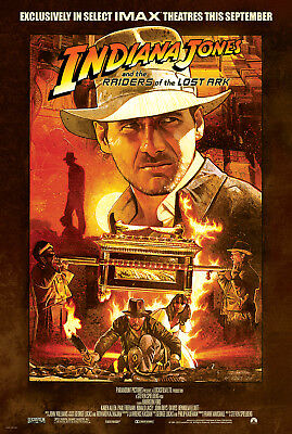 Raiders Of The Lost Ark movie poster (e) : 11 x 17 inches - Indiana Jones Poster