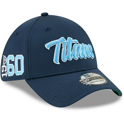 2019 Tennessee Titans New Era 39THIRTY NFL Sideline Home On Field Cap Hat 1960s