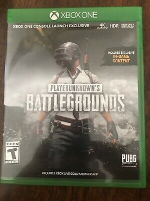 PLAYERUNKNOWN'S BATTLEGROUNDS XBOX One PUBG DISC XB1 4K HDR