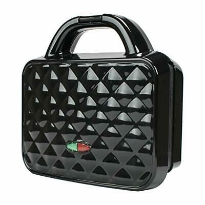 Brentwood Appliances Ts-239bk Couture Purse Nonstick Dual Waffle Maker [black]