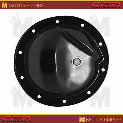 1964-77 Compatible//Replacement for Chevy//GM Chrome Steel Rear Differential Cover 10 Bolt w// 8.2 Ring Gear