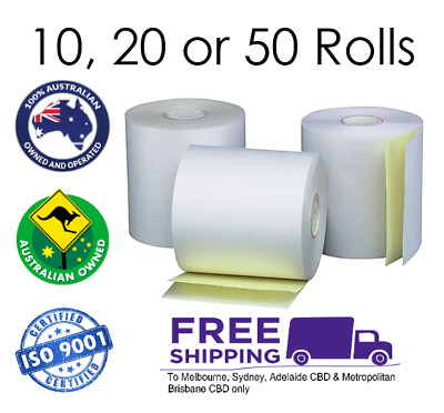 76x76mm 2 Ply Printer Rolls Receipt Bond Paper 10/20/50 pieces + FREE SHIPPING