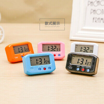 Battery Operated Mini Table Desk Clock Home Car Vehical Office Travel Clock