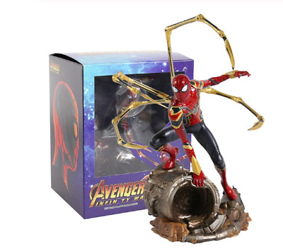 Avengers Infinity War Iron Spider Spiderman 1/10 Scale Statue PVC Figure Collect