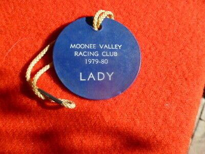 Moonee Valley Racing Club  Lady ,Round Pass 1979/80