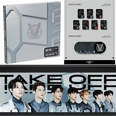 NCT Take Off CD +Booklet Photo Card +Circle Card Way V First 1st Mini Album Set
