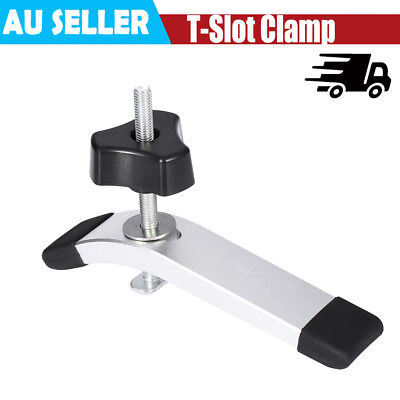Metal Quick Acting Hold Down Clamps Knob for T-Slot T-Track Woodworking Tools EB