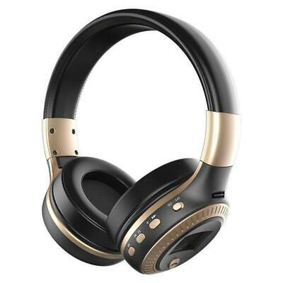 B-19 Folding Wireless Over-The-Ear Bluetooth Headphone - Surround Stereo + Hands