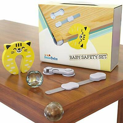 33 Piece Baby Home Safety Set Proofing Kit Corner Protectors Cupboard Draw Locks