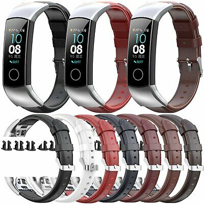 For Huawei Honor 5 Watch 4ENC CRS-B19S Genuine Leather Band Wrist Strap Bracelet
