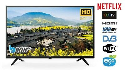 Smart Tv 32″ Pollici Led Hd Blue 32Bl600 Nuovo Netflix  Browser -Dvb-T / T2 / S2