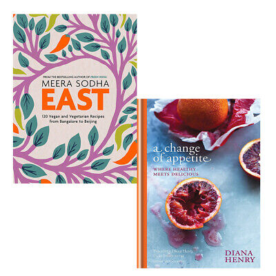 A Change of Appetite,Meera Sodha East 2 Books Collections Set Hardback NEW