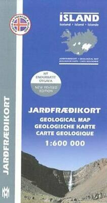 Iceland Geological Map 2014 9789979334644 | Brand New | Free UK Shipping