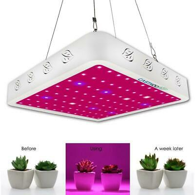 1000W LED Grow Light Panel Lamp Full Spectrum Hydroponic Flower Plant Growing G