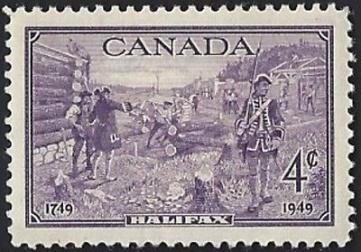 Canada    # 283   Halifax Bicentenary    New Issue 1949 Pristine Gum    03