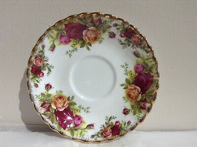 Vintage Royal Albert Old Country Roses China ONLY ONE SAUCER LEFT!!