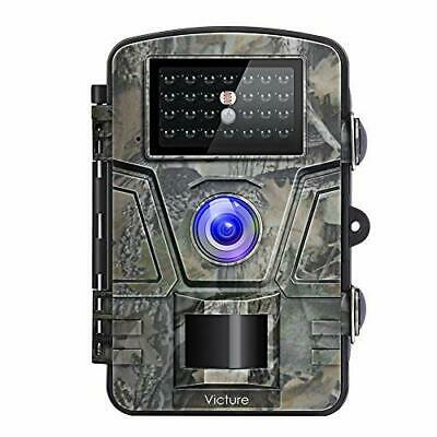 Victure Wildlife Camera 1080P 12MP Trail Game Camera Motion Activated Night