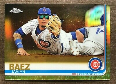 2019 Topps Chrome Gold & Gold Wave Refractor Parallels ~ Pick your Card