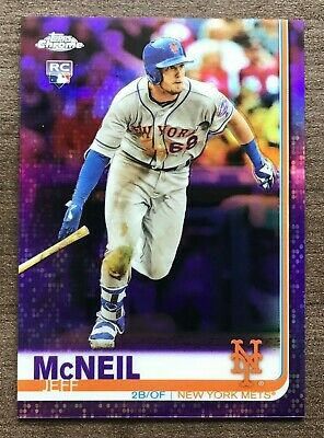 2019 Topps Chrome Purple Refractor Parallels #'d/299 ~ Pick your Card