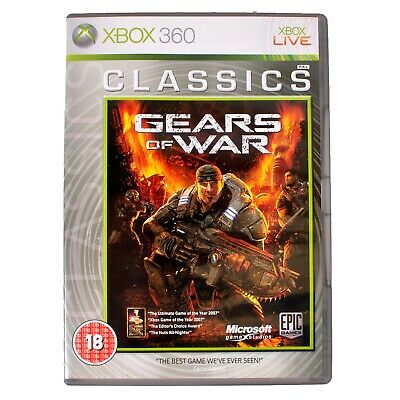 Gears Of War For Microsoft Xbox 360 - Complete - PAL